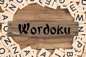 Daily Wordoku – A letter soduku game