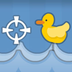 Click here to playQuackshot Cute flash game in which you have to shoot rubber ducks but must avoid bombs. I couldn't last only few seconds. Original description: Playnook brings you a fun mini game that kids will enjoy. Shoot as many ducks as you can and don't let one escape. You lose a life for every duck that escapes and […]