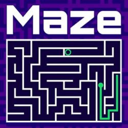 Can you find the exit and escape the sticky maze in this fun & exciting puzzle game? a maze game with several levels moving green line to the end target. Play as a green line. use your finger on mobile or mouse pointer to find the exit. avoid obstacles and reach the exit. make sure not to get stuck.