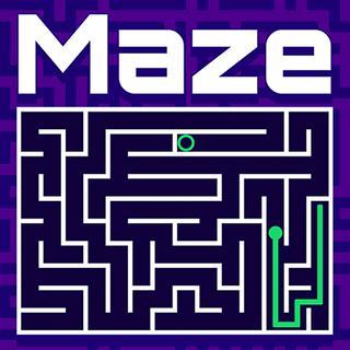 Line Maze Game