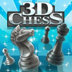 Exercise your brain and immerse yourself in this cool 3D version of Chess!
