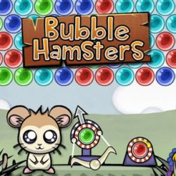 Bubble Hamsters is a colorful bubble shooter game for the whole family! Master all levels and unlock cute new hamsters! Can you achieve a high score? A match 3 html5 game that works on mobile and desktop.  Basically what looks like a Hamster but could be a bear-rat for all we know that can shoot bubbles at a descending wall […]