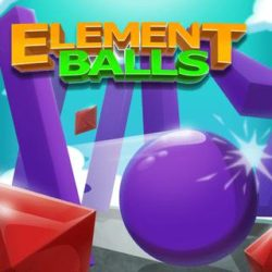 Master the Element Balls and solve all challenging levels in this arcade physics game!