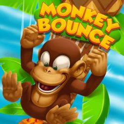 Help the monkey to get to his bananas and swing yourself as skillfully as possible through the palm leaves!