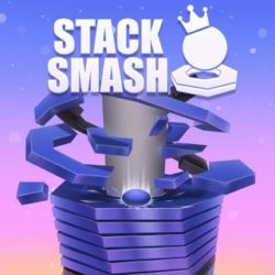 Smash your way through the revolving helix and try to time as smart as possible in this 3D arcade game!