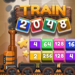 Grab your train ticket and hop onboard of the most fun 2048 games you've ever traveled with.