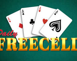 Daily Freecell is a freecell solitare game.  According to Freecell Rules move all the cards to the 4 foundation cells using Ace cards. Play a different puzzle every day What is FreeCell solitare?  Freecell is a solitare card game that is unique in that all cards are dealt face up on the standard deck. there are few chances of unsolvable […]
