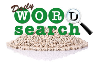 Daily Word Search Puzzle Game – Find All the Words before time runs out