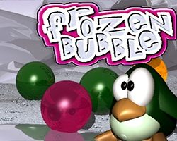 Frzone bubble shooter game in which you shoot bubbles hanging from above. You must eliminate all bubbles. but you don't have to destroy each one at a time. if you shoot the time and remove connection from the wall you win. Use as less as possible or otherwise the wall start to comes down and you might lose. Help penguin […]