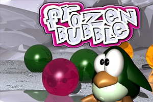 Penguin Frozen Bubble Shooter game