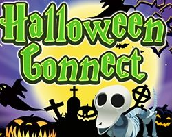 A halloween themed Mahjong game in which you must match 2 mahjong tiles of the same picture to remove them. Tiles must be next to each other or free with empty area to connect them. Halloween Mahjong Connect is more like match 3 games but with 2 tiles with halloween icons like skulls and tombs.